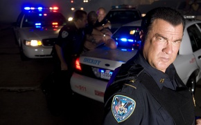 Picture auto, pose, police, Actor, auto, police, Director, Writer, Steven Seagal, Steven Seagal, Actor, Director, Writer