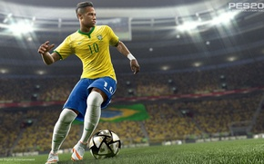 Picture brazil, neymar, pro evolution soccer, pes 2016