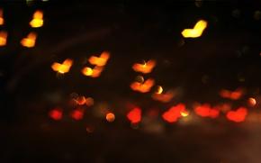 Picture lights, color, Blik