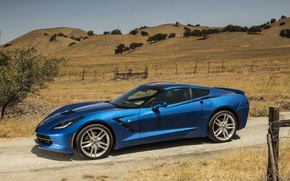 Picture Corvette, coupe, Stingray