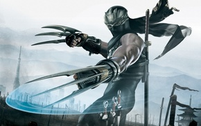 Picture the game, knives, Ninja Gaiden