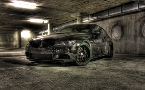Picture black, bmw, BMW, Parking, drives, black, e92