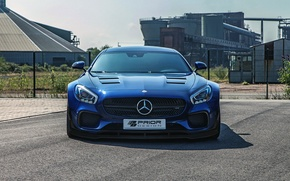 Picture Mercedes, front view, Widebody, Aerodynamic, PD800GT