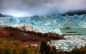 Picture coast, glacier, Argentina, argentina, patagonia, glacier, Patagonia