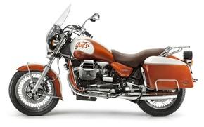 Picture red, motorcycle, MOTO GUZZI.KALIFORNIA 90