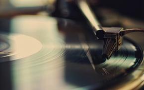 Picture retro, music, player, record