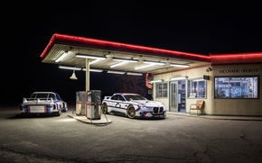 Picture car, night, CSL, Hommage R, BMW 3.0