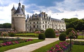 Picture France, the castle of Chenonceau, EDR-et-Loire