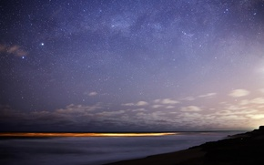 Picture stars, lights, The milky way, Bungula, Toliman, southern sky, Rigel
