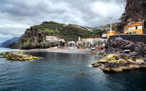 Picture the ocean, hdr, Portugal, Ponta do Sol Bay