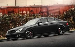 Picture black, Wallpaper, tuning, car, black, Mercedes, gelding, auto, benz, tuning, wallpapers, amg, merc, tsls, benzo, …
