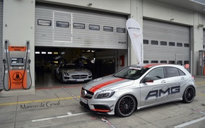 Picture Mercedes-Benz, AMG, Turbo, A45