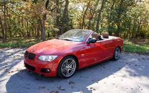 Picture BMW, red, 335is