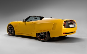 Wallpaper yellow, electric, supercar