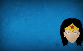 Picture minimalism, Wonder Woman, DC Comics, blo0p