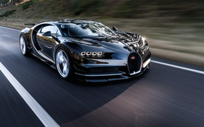 Picture car, Bugatti, wallpaper, supercar, Bugatti, road, speed, hypercar, Chiron