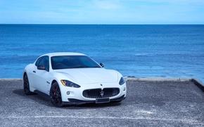 Picture Maserati, GranTurismo, White