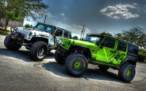 Wallpaper Tuning, jeep Wrangler, Off Road