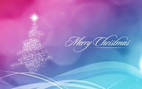 Wallpaper happy new year, tree, new year, merry christmas, tree, Christmas