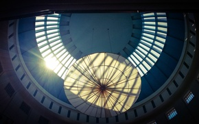 Picture light, blue, view, floor, top, hope, pyramid, malaysia, sunway, highest