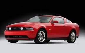 Wallpaper GT 5.0, 2011, Mustang, Ford