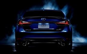 Picture Lexus, Lexus, Car, Car, Back, GS-F
