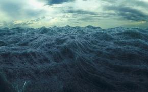 Wallpaper sea, wave, water, storm, the ocean