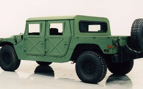 Picture HMMWV, M-998, cargo open car, high-mobility multipurpose wheeled vehicle, High Mobility Multipurpose Wheeled Vehicle, base …
