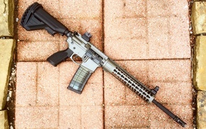 Picture weapons, AR-15, assault rifle