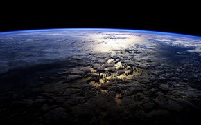 Picture planet earth, planet, atmosphere