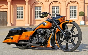 Picture motorcycles, road king, Rick's, ROAD KING®