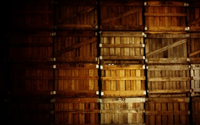 Picture photo, creative, composition, boxes, different, the basement, box
