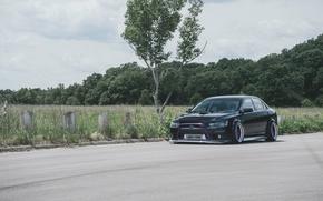 Picture Mitsubishi, Lancer, Evolution, Avant Garde Wheels