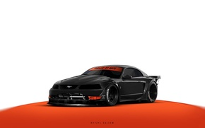 Picture Mustang, Ford, ART, khyzyl saleem