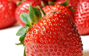 Picture macro, berries, strawberry, strawberry, berry, fruit, fruit