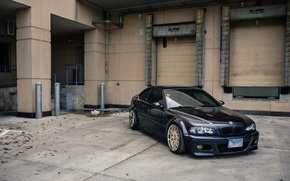 Picture tuning, BMW, drives, E46, stance
