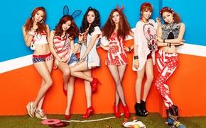Picture music, girls, Asian girls, K-Pop, Dal Shabet, South Korea