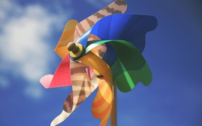 Picture toy, sky, sunny, pinwheel