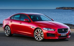 Wallpaper Jaguar, Jaguar, 2015, XE S