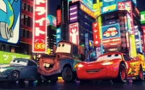 Wallpaper Walt Disney, Pixar, Cars 2, Cars 2, cartoon