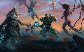 Picture World of Warcraft, Lich King, Blizzard, Diablo, Sarah Kerrigan, Archangel, StarCraft, Illidan Stormrage, Arthas Menethil, …