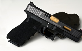 Picture gun, tuning, holster, Glock 41, Salient Arms International