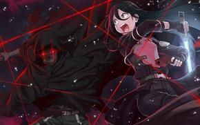 Picture weapons, Sword Art Online, Kirito, Kirigaya Kazuto, Gun Gale Online, Shouichi Shinkawa