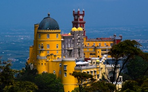 Picture Portugal, The Pena Palace, Sintra