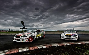 Picture bmw, drift, cars, monster energy, sports