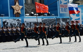 Picture the city, holiday, victory day, Moscow, red square, March