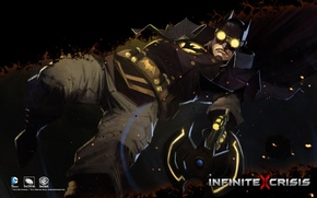 Picture DC comics, Warner Games, Infinite Crisis, Gaslight Batman