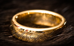 Picture love, gold, ring