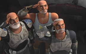 Picture Wolf, clones, Rex, animated series, Star wars: Rebels, Star Wars: Rebels, clones return, Gregor