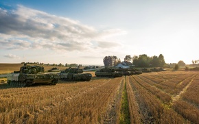 Picture field, Tanks, armor, Leopard 2A